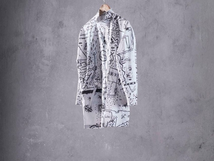 Conscious clothing made from banana peels