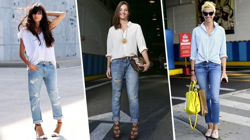 10 Great Ways to Wear Popular Boyfriend Jeans